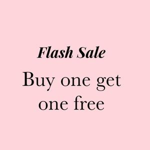 BOGO flash sale